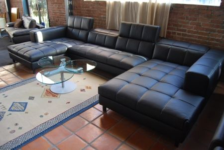 Metro Sectional Sofa Double Chaise Composition. Great For Any Room Where  You Will Have Guest