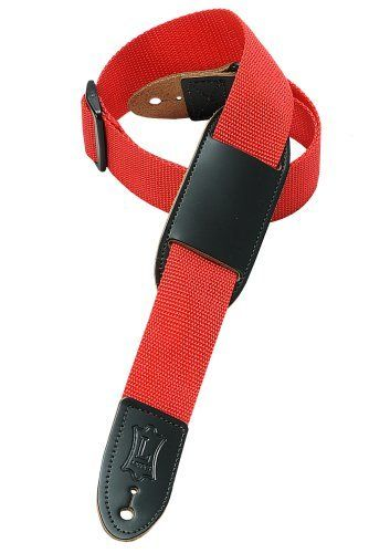 levy 39 s leathers m8pj red 1 5 polypropylene youth 39 s guitar strap red by levy 39 s leathers. Black Bedroom Furniture Sets. Home Design Ideas