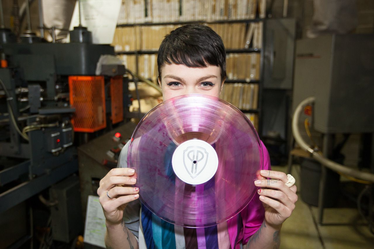 That Is Her Menstrual Blood In The Pressing Vinyl Records Vinyl