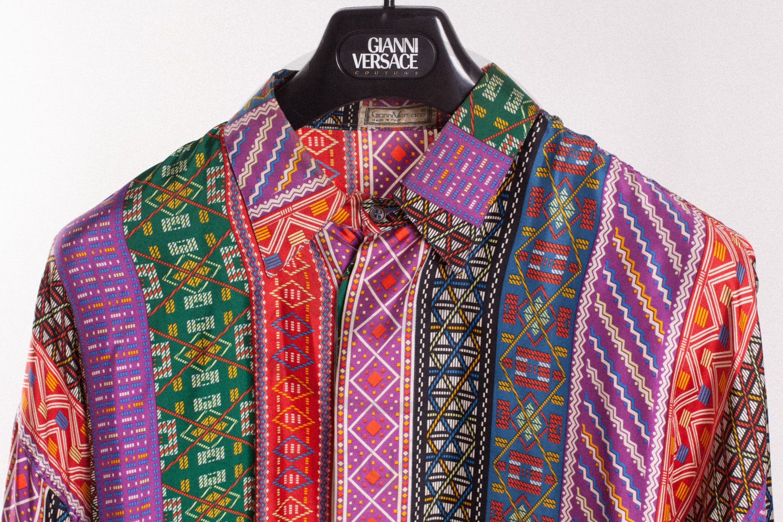 09e288184643 Gianni Versace silk shirt