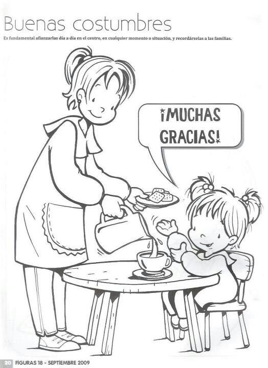 Buenas costumbres | Spanish Teacher | Pinterest | Spanish ...