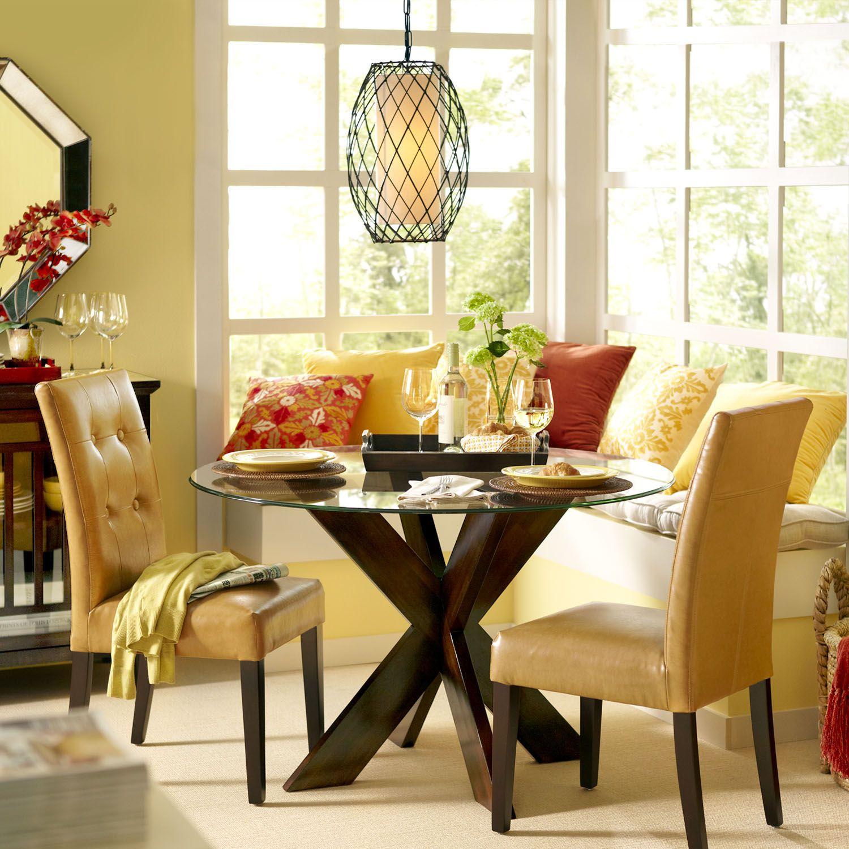 Simon X Table Base Espresso Round Wood Dining Table Dining Table Bases Dining Table