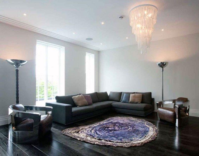 Living Room Elegant Oval Living Room Rugs And L Shape Black Modern