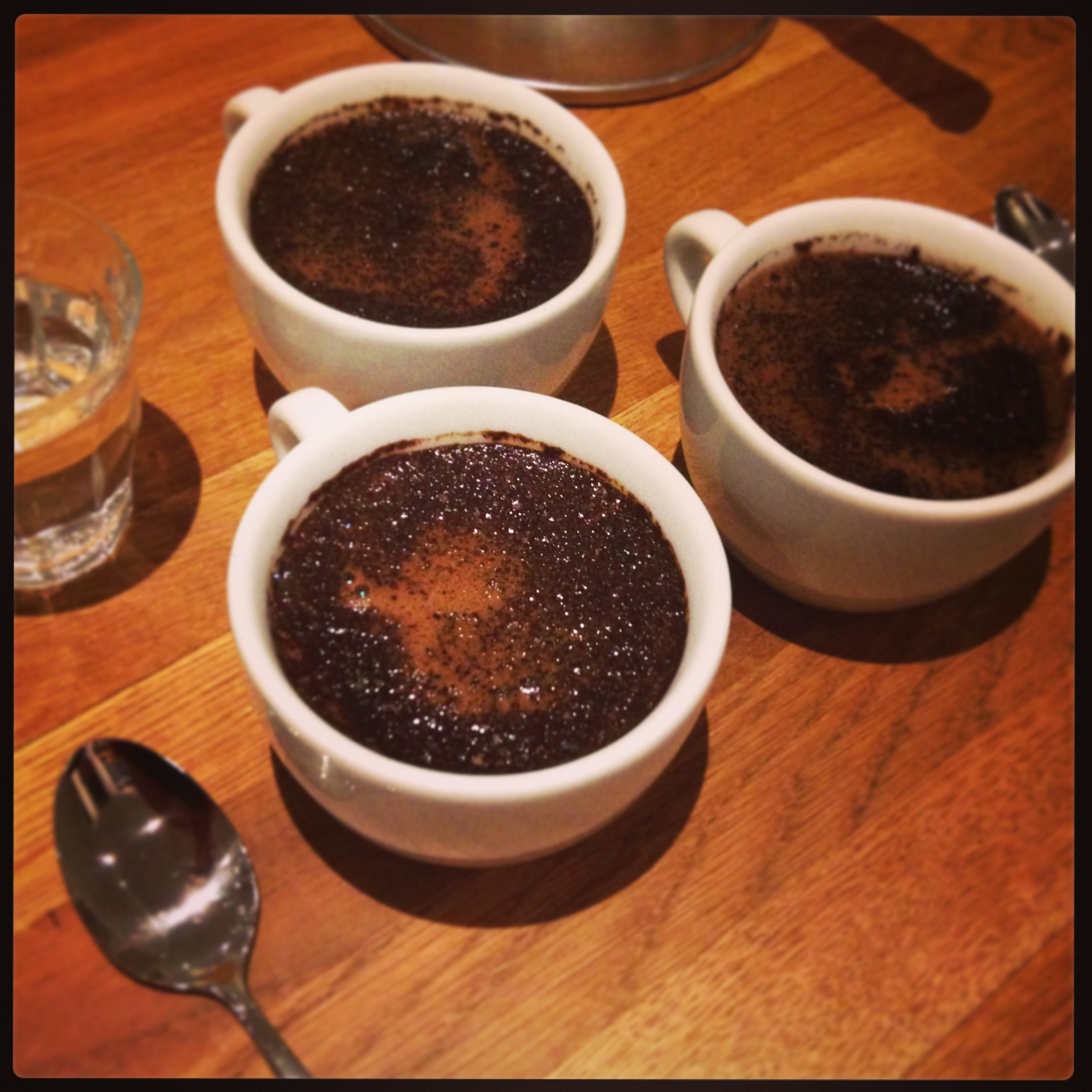 Cuptasting Session.. We're Always in Search of the Most Perfect Coffee's for You.