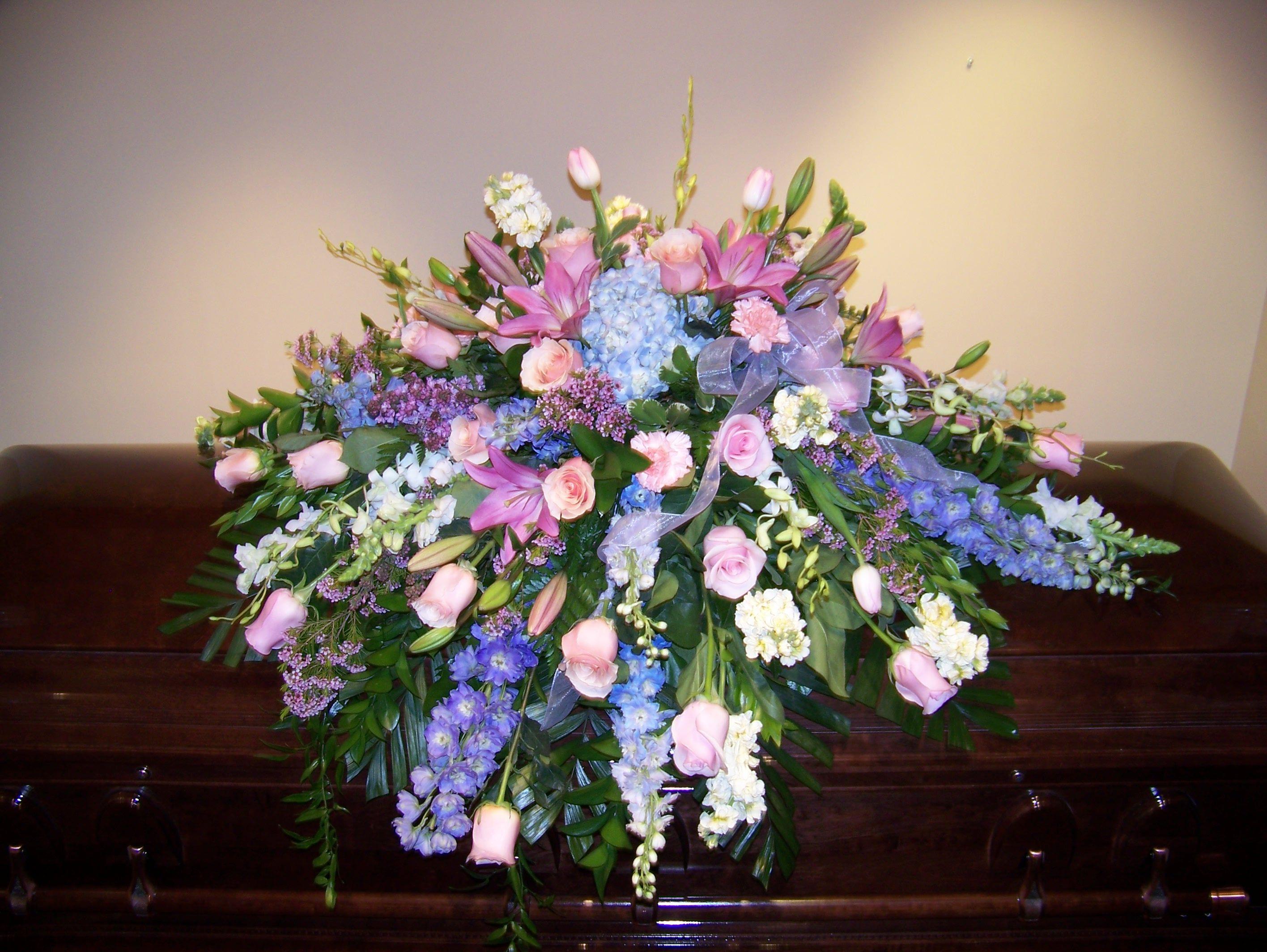 Gallery casket sprays city flowers casket
