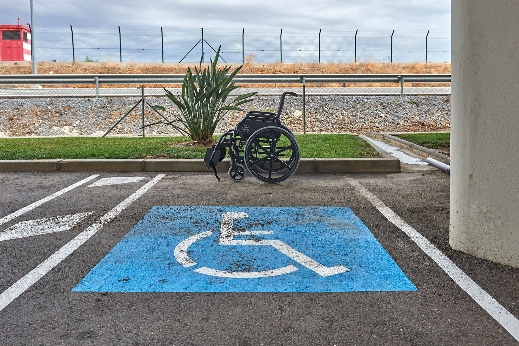 Parking reservado a minusvalidos