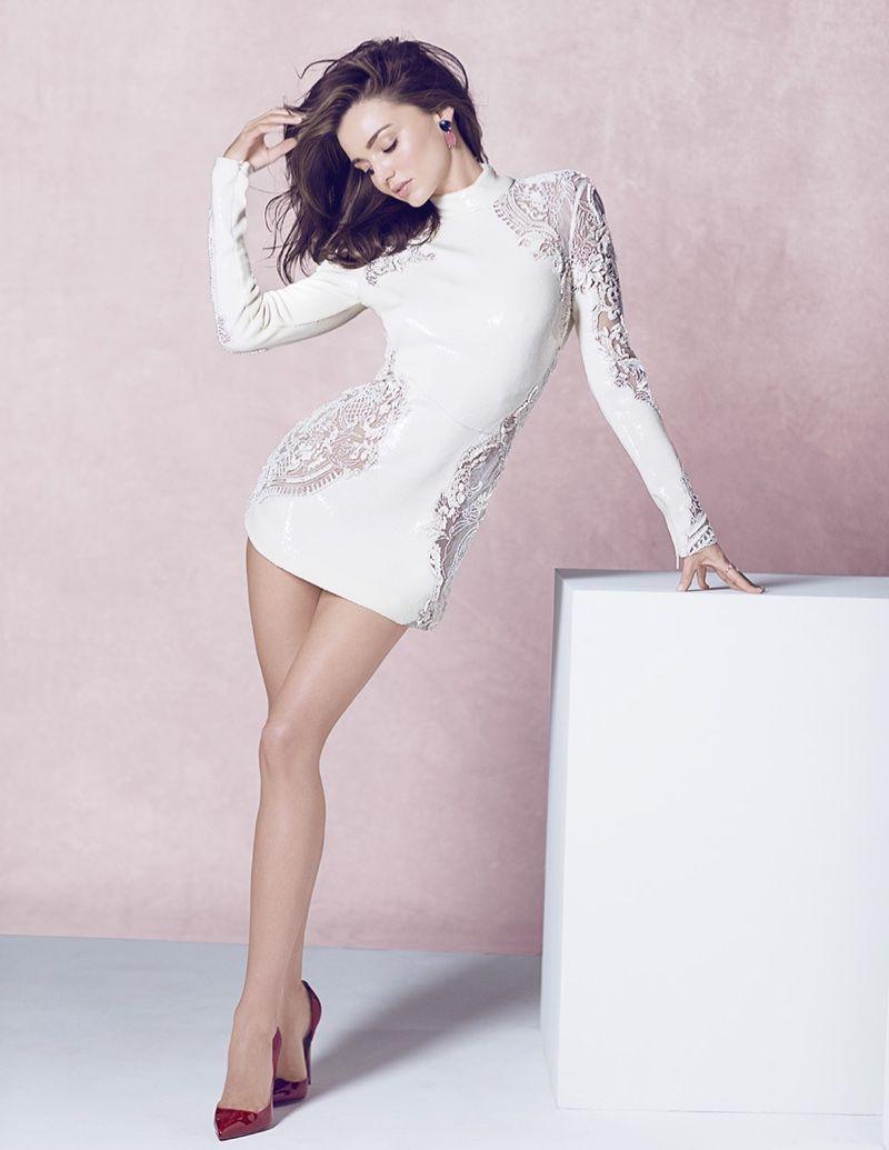Miranda Kerr Models Pretty Florals & Pastels in Vogue Thailand