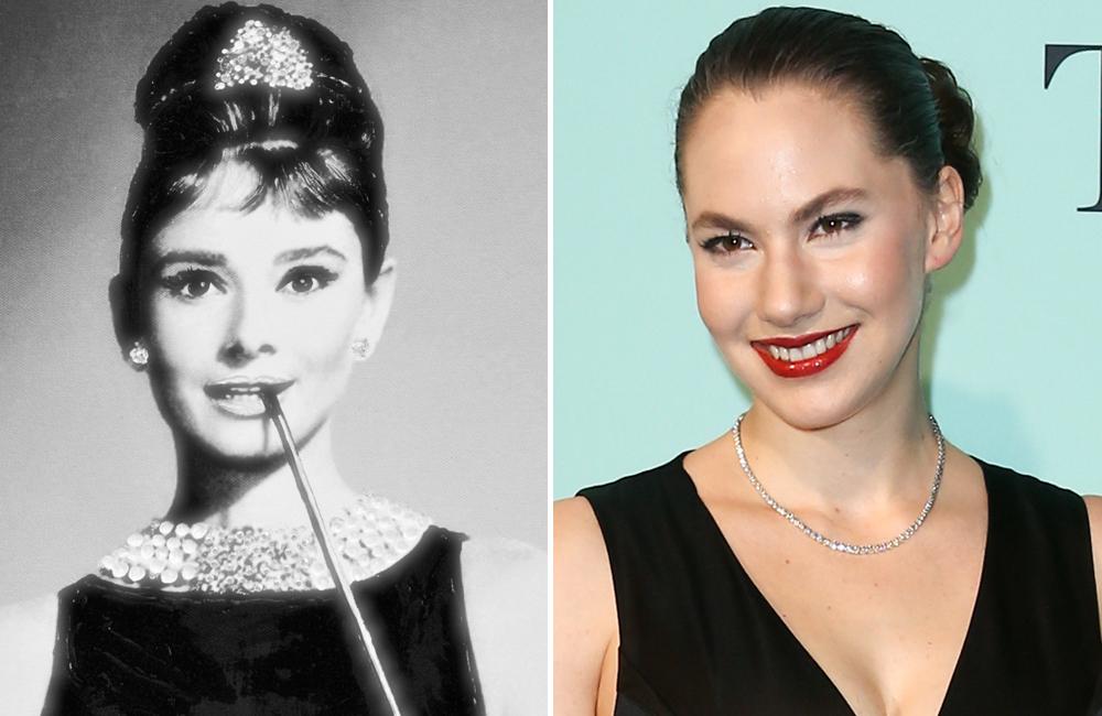 Audrey Hepburn And Granddaughter Emma Ferrer In 2020 Audrey Hepburn Emma Ferrer Audrey