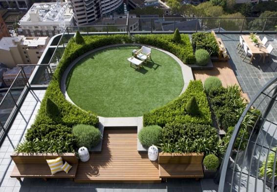 Mega roundup 20 modern gardens to delight and inspire terrazas jardin en balcon terraza - Mega jardines de olarizu ...