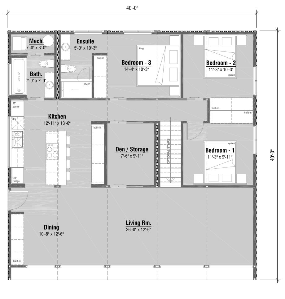 bdrm w ensuite den u stairs home pinterest modern house
