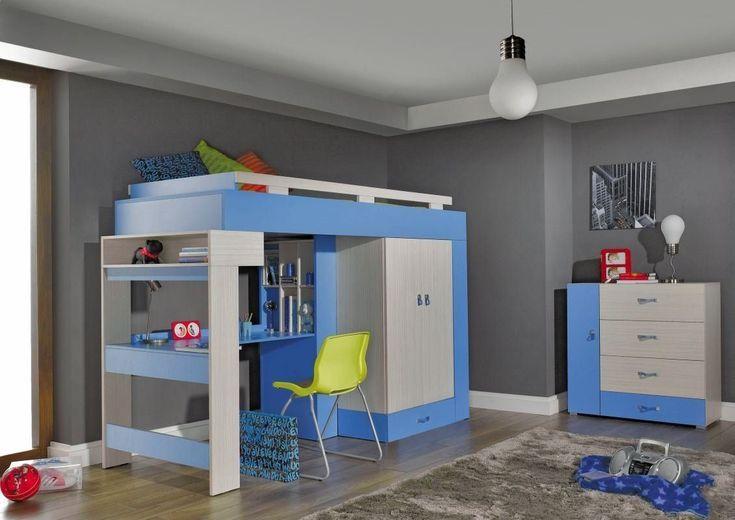 Kinderzimmer Set *1 Kommode *1 Funktionsbett