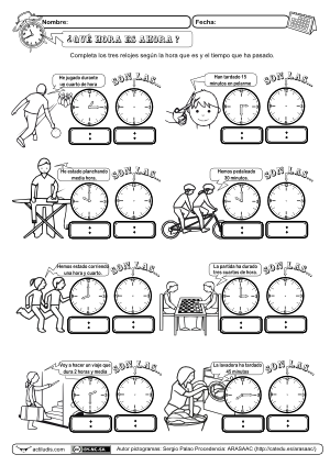 Trabajamos intervalos de tiempo | Actividades Primaria | Pinterest ...