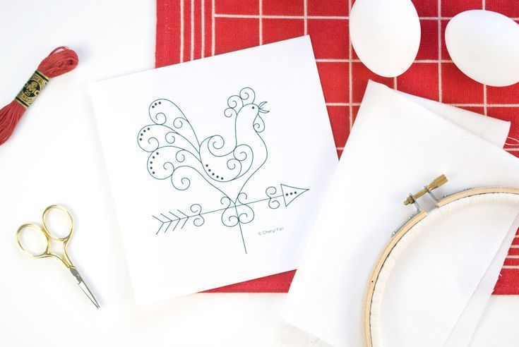 10 Free Embroidery Patterns For Beginners Embroidery Patterns And