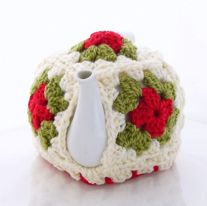 Granny Square Teapot Cozy Tea Cozie | Teapots Cozies | Pinterest ...