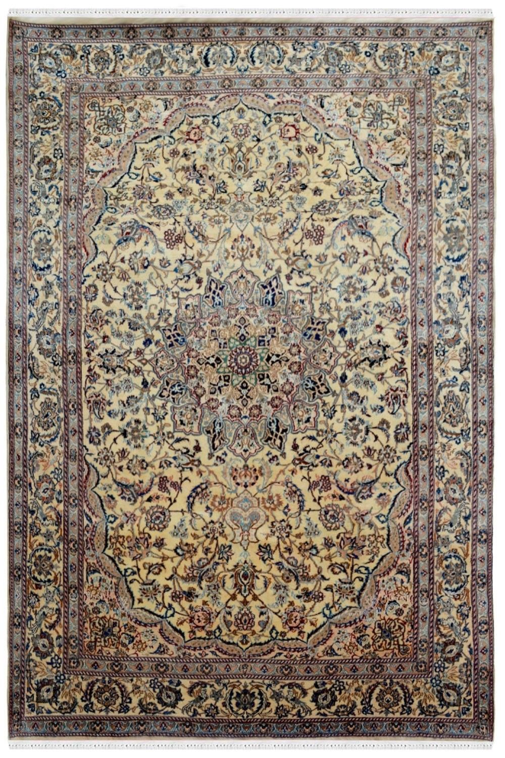 Ivory Oval Medallion Pure Persian Wool Rug Online In 2020 Rugs