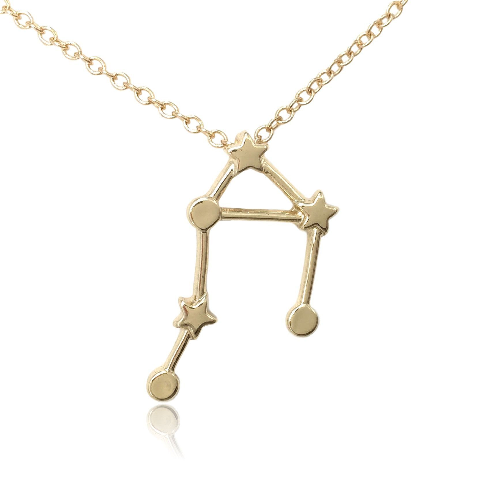 Libra zodiac constellation sign symbol pendant necklace pendants