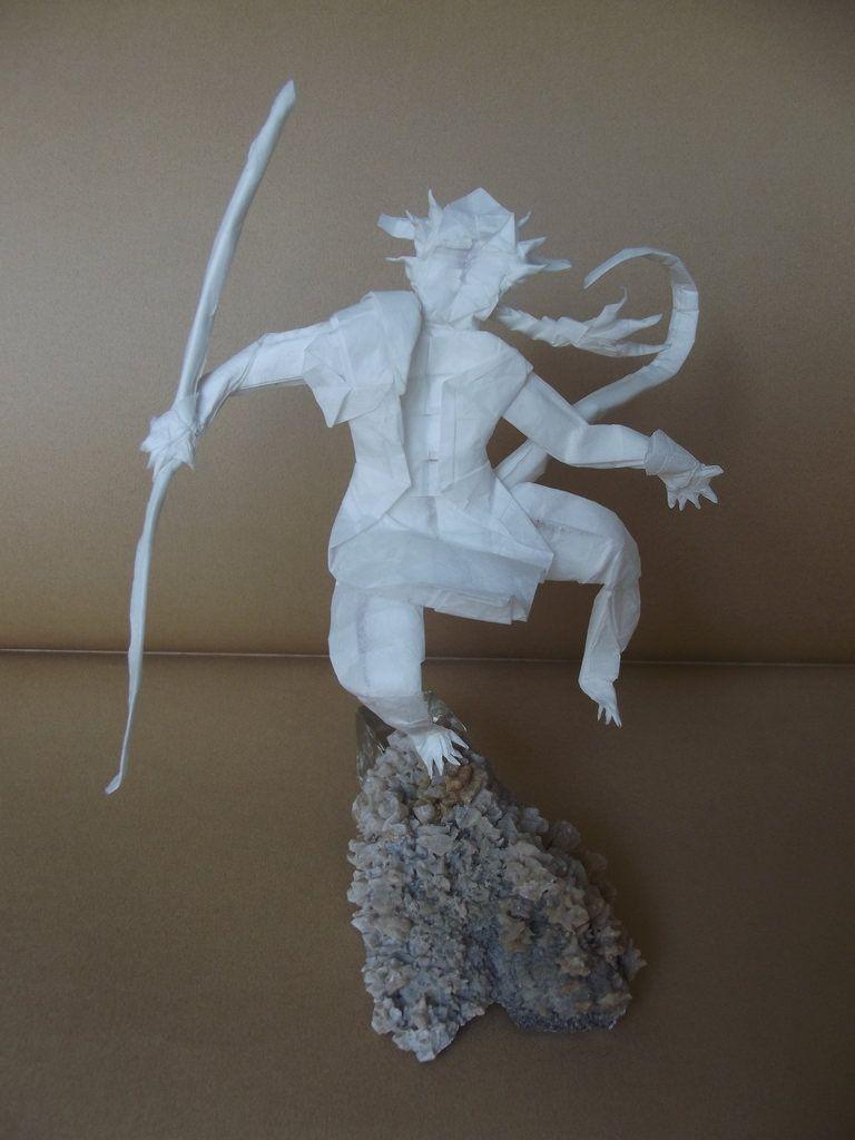 Origami Sun Wukon By Bartslayer