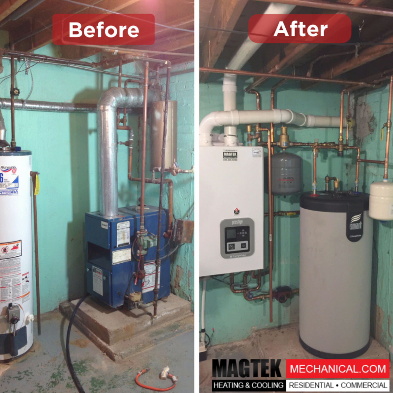 Check Out This Transformation Magtek Heating Cooling Hvac