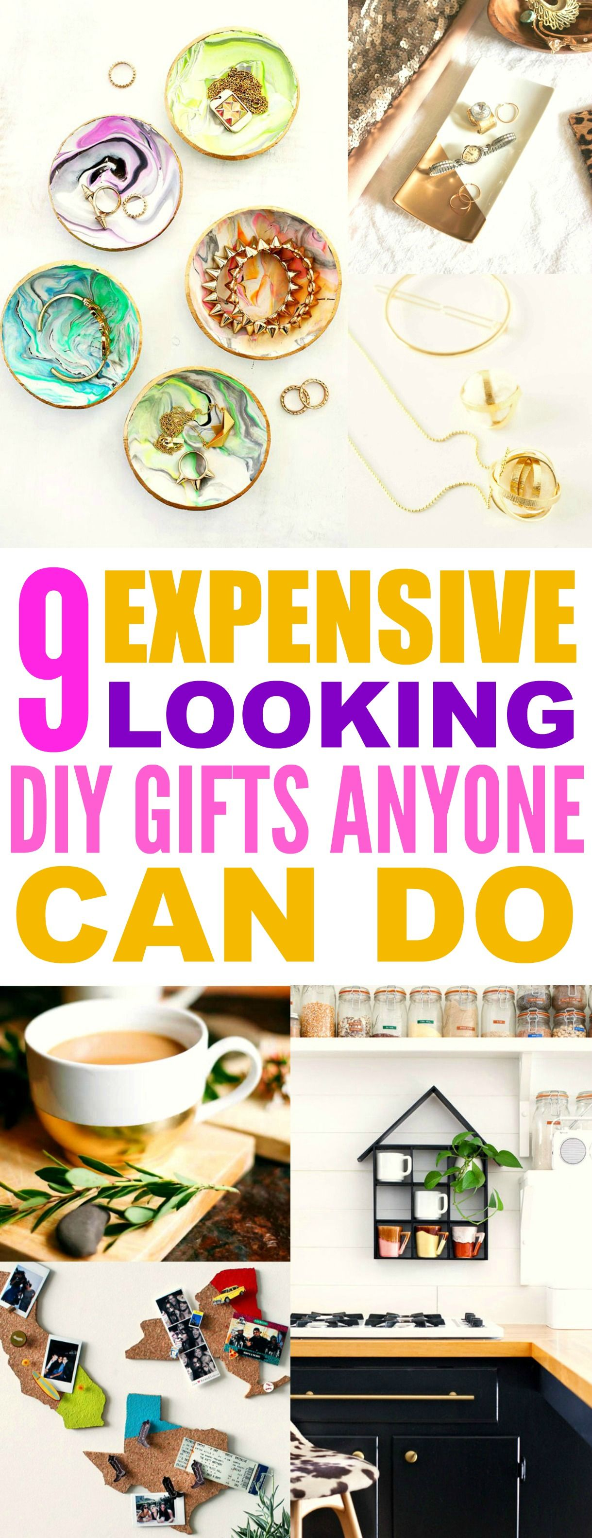 9 Expensive Looking Easy DIY Gifts