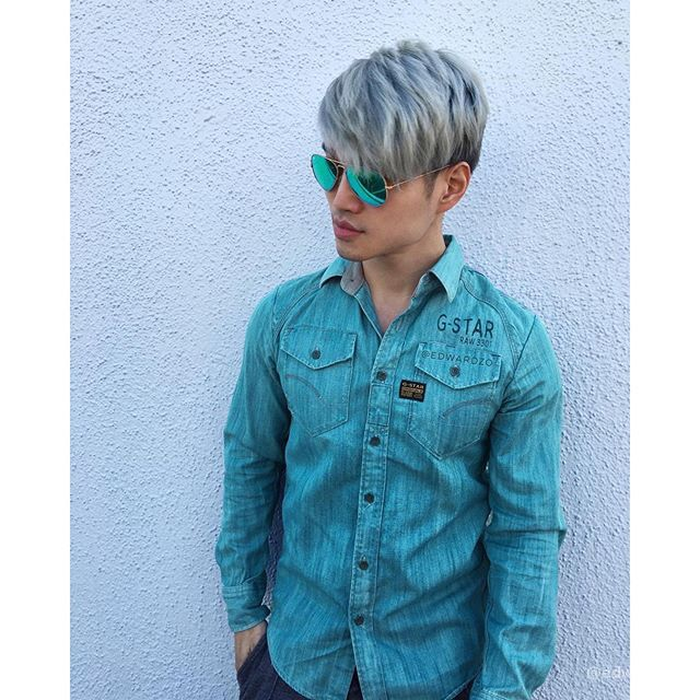 Silver Hair Cool Hair Color Mens Hair Colour