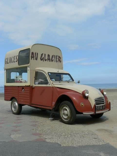 2cv ak400 glacier sur la plage carrosseries sp ciales. Black Bedroom Furniture Sets. Home Design Ideas