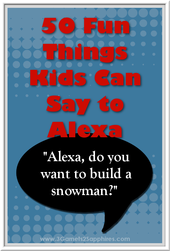 photo about Printable List of Alexa Commands named 50 Exciting Elements Young children Can Say in direction of Alexa (Amazon Echo) Using