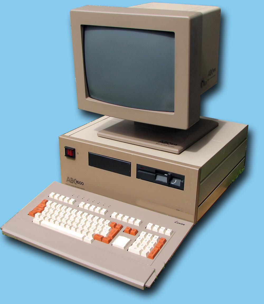 Computers Technology: ABC 1600, A Personal Computer From Luxor That Were