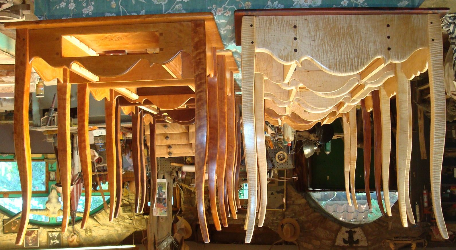"""Floating Creole Tables""  Michael Moss Fredericksburg,Tx."