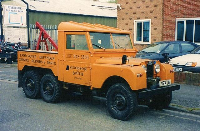 emergency vehicle breakdown kit Landrover