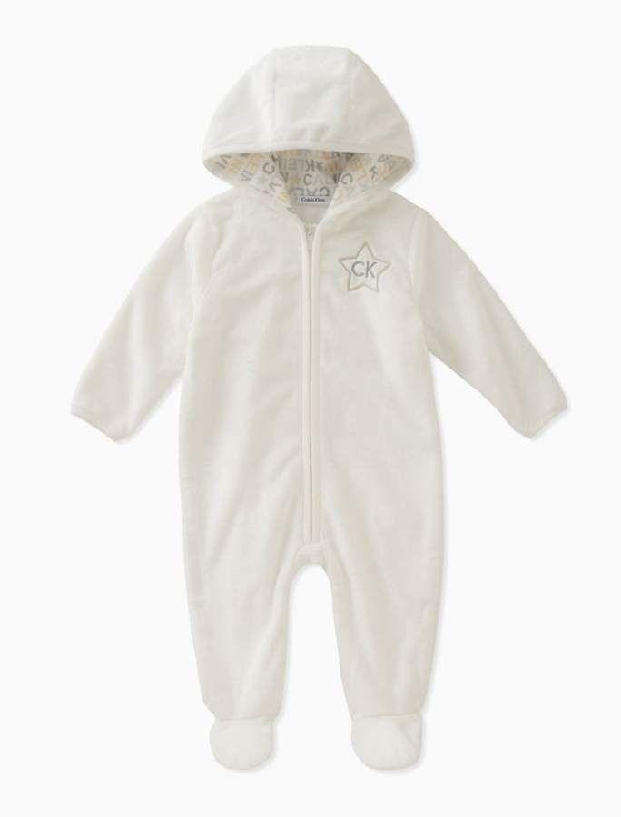 cdf57f6ef Baby boys sherpa logo onesie
