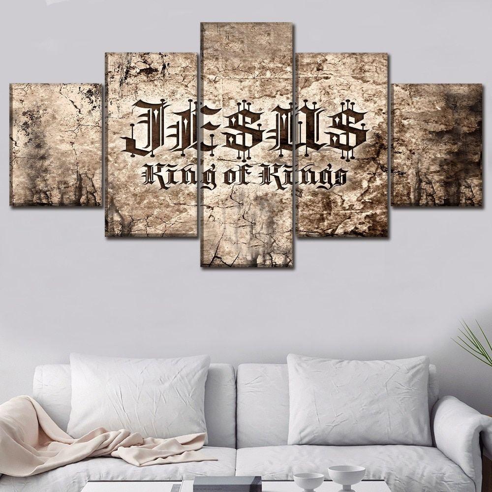 Piece Christian Scripture Paintings Wall Art Poster Decorative Framework Christian Wall Art Wall Canvas Canvas Wall Art