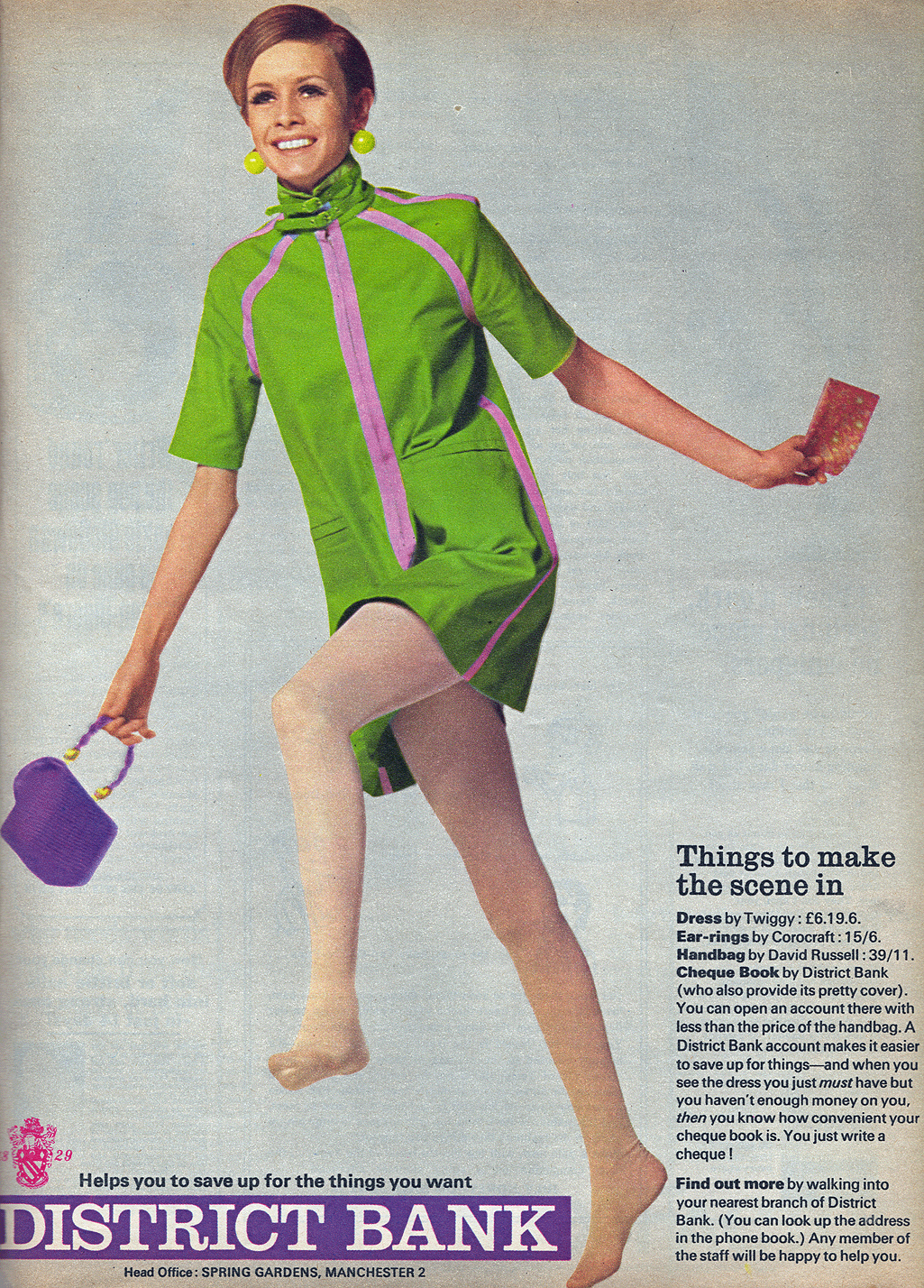 Twiggy Dresses 1967