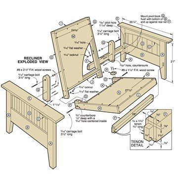 Pdf plans futon plans download cheap wood planer for Proyectos en madera pdf