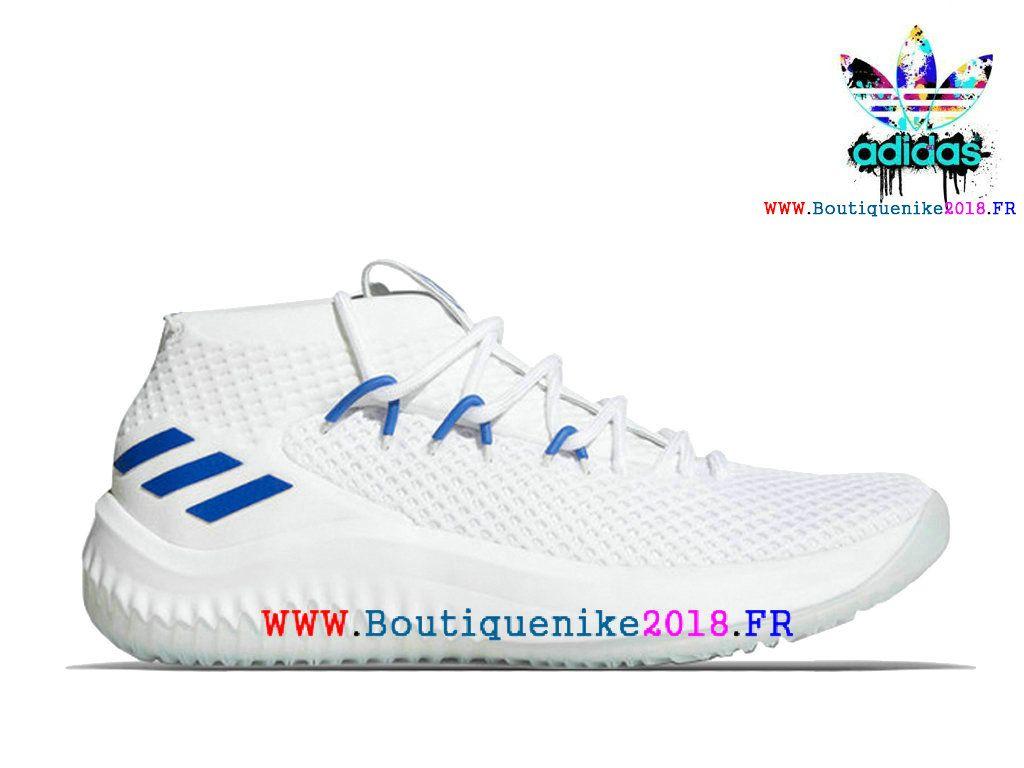 buy online 2dd53 30ff6 ... where can i buy nouveau adidas dame 4 basketball chaussures damian  lillard homme blue bleu ac8648 ...
