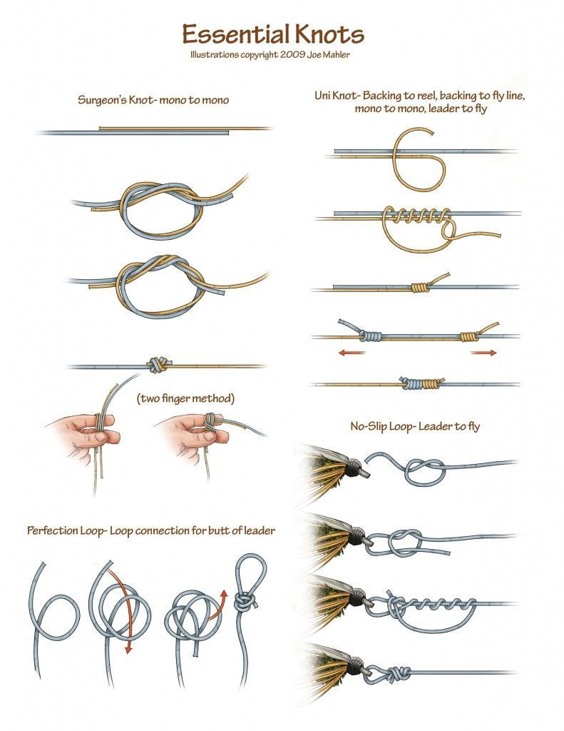 Share tweet 1 mail when you first start learning about for Fly fishing knots