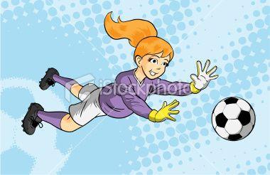 Me Saving A Ball In Soccer With Orange Hair Kids Soccer Soccer Goalie Soccer