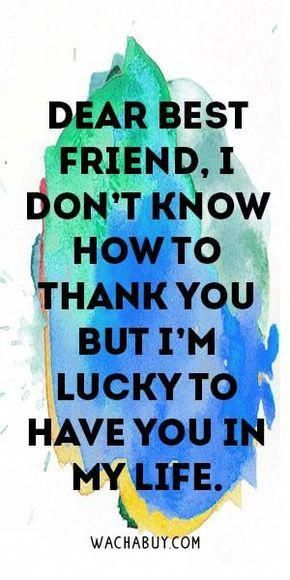 #quote #inspiration / Inspiring Friendship Quotes For Your Best Friend #bestlife…