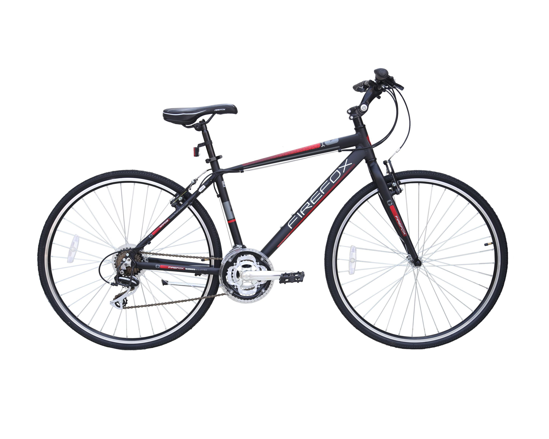 Rapide Black Red Hybrid City Biketowork Http Www Firefoxbikes