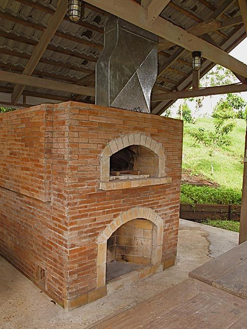 Philippines pizza oven for the home pinterest bricks and kitchens - How to build an outdoor brick oven ...