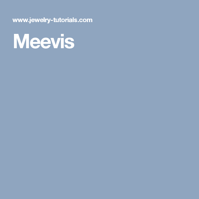 Meevis