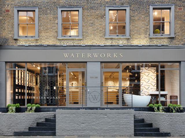 Waterworks London Showroom Store Front 住宅 外観 住宅設計プラン