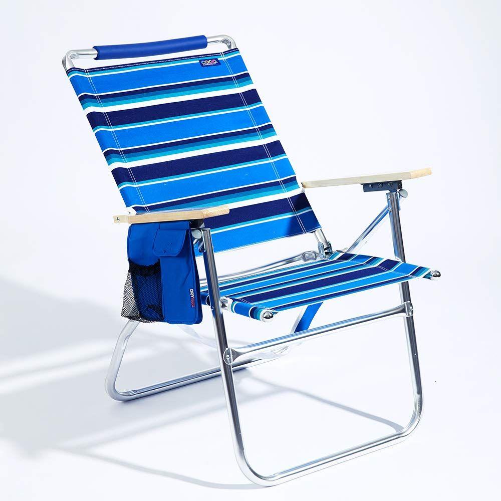 Copa big tycoon 4position aluminum beach chair aluminum