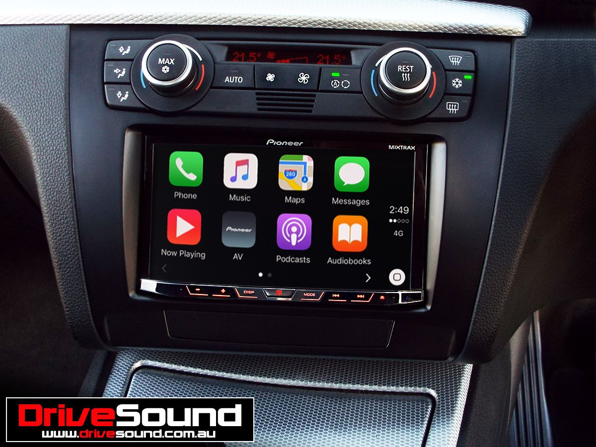 bmw 1 series with apple carplay installed by drivesound. Black Bedroom Furniture Sets. Home Design Ideas