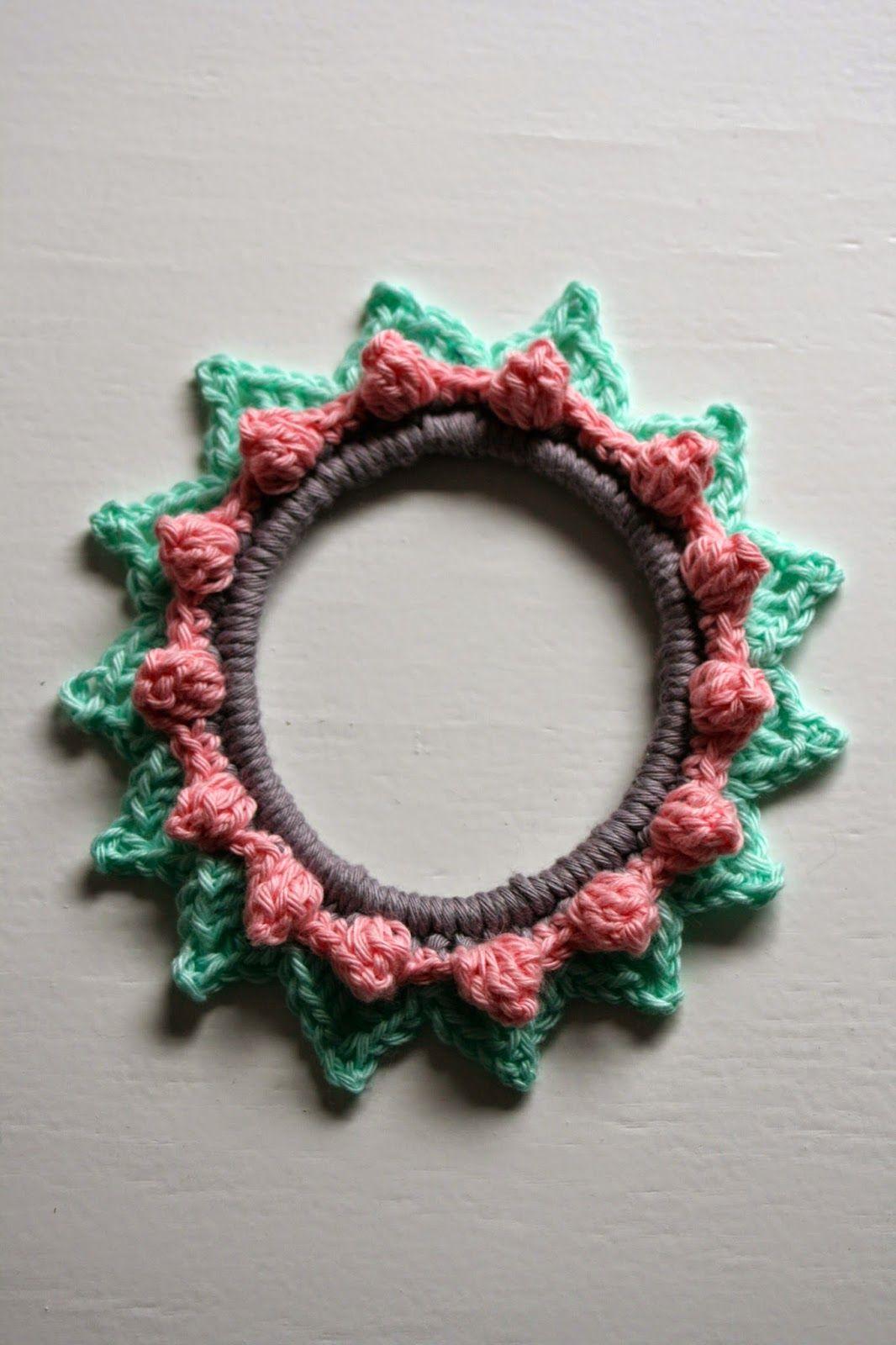 Haken Bij Saar En Mien 101 Woonideeën Fotolijstje Crochet Beads
