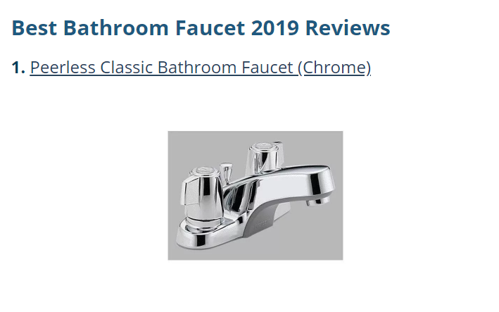 Best Bathroom Faucet Reviews Top Rated Single Hole Single Handle