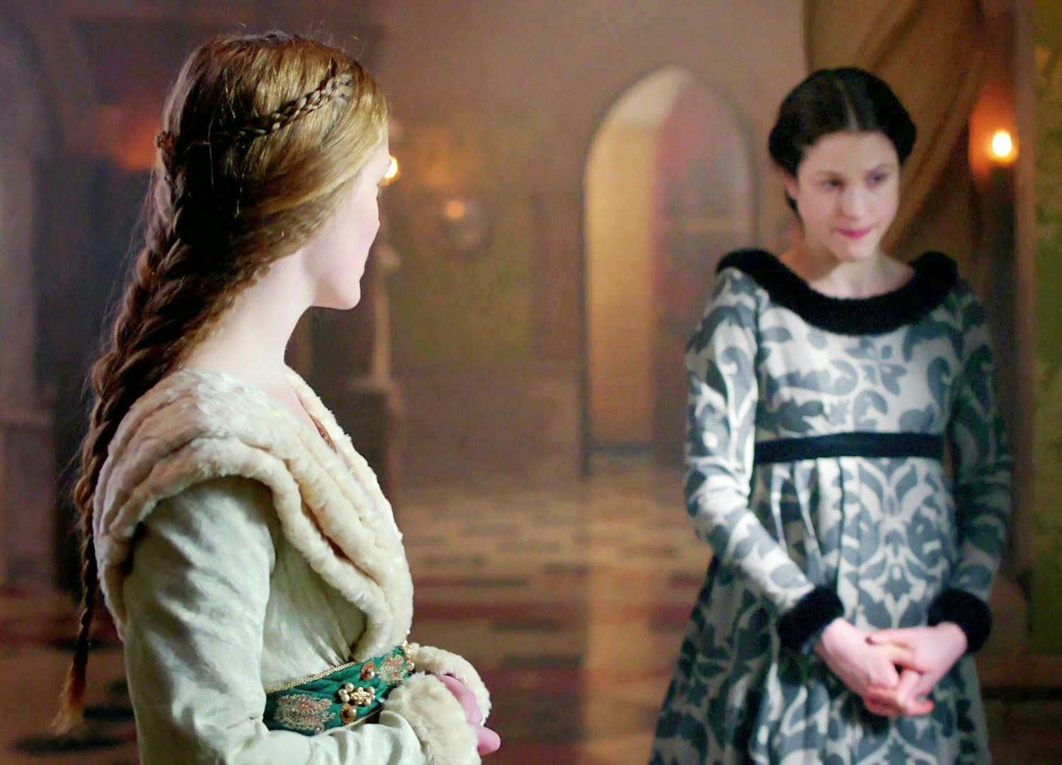 The White Queen Mary Rivers And Margaret Beaufort Medieval Shows