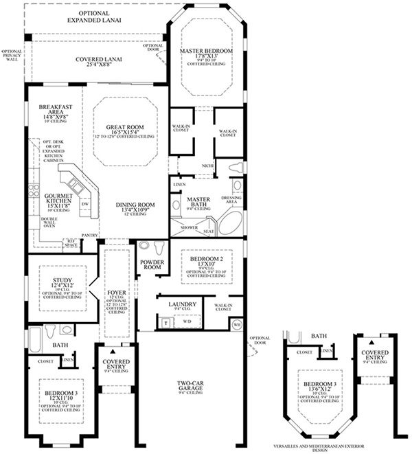 Toll Brothers The Reserve At Estero Floor Plans Florida Home Toll Brothers