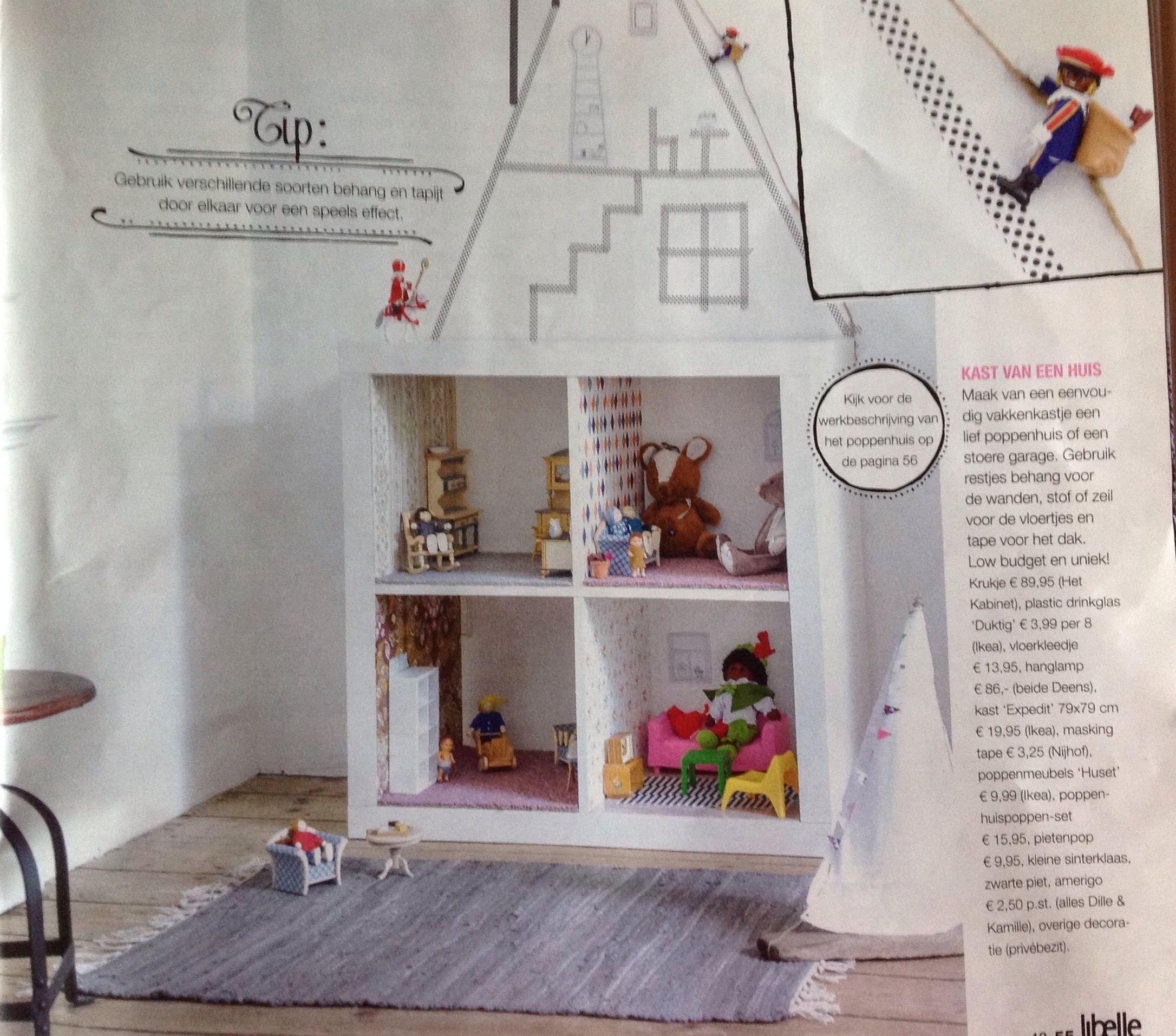 Poppenhuis Dolls House Ikea Kastje Expedit