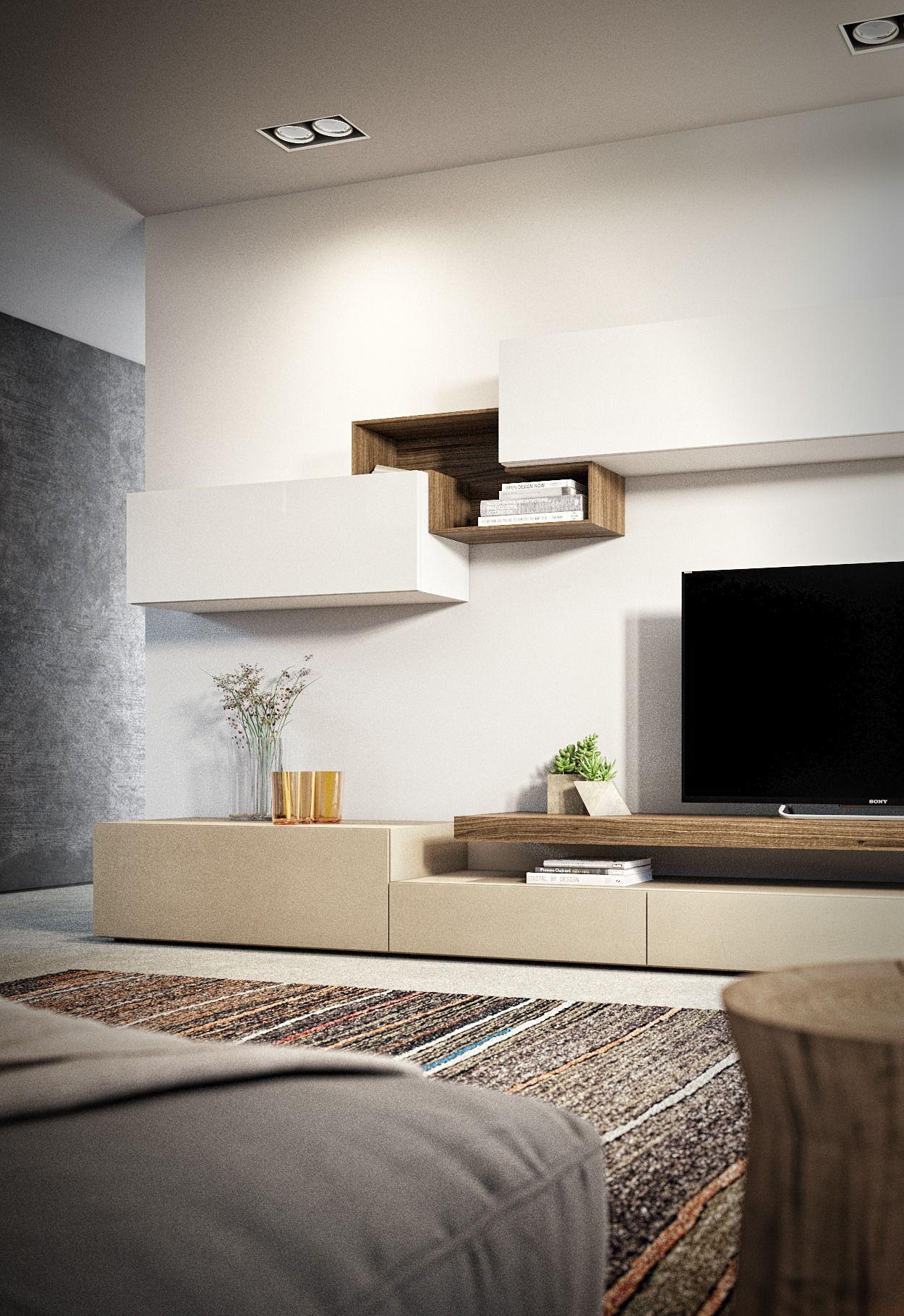 Salotto nel 2019 | Arredamento moderno soggiorno ...