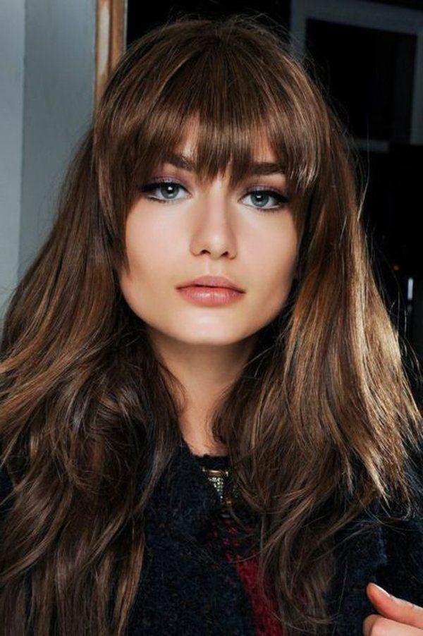 Belle couleur cheveux pour brune